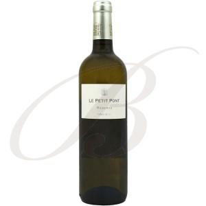 Le Petit Pont, Réserve, Blanc, Vin de Pays d'Oc, 2015 - Vin Blanc