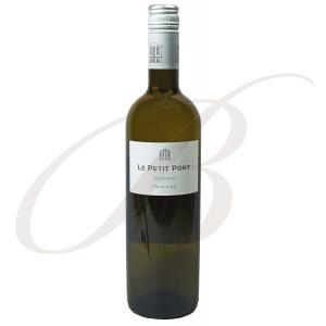 Le Petit Pont, Réserve, Blanc, Vin de Pays d'Oc, 2016  - Vin Blanc