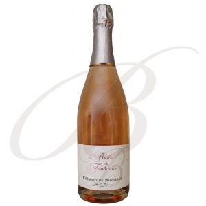 Les Bulles de Fontenille, Crémant de Bordeaux, Rosé, Brut