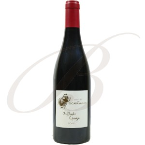 Roaix, Les Hautes Granges, Domaine des Escaravailles (Rhône), 2016 - Vin Rouge