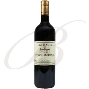 Les Hauts de Lynch-Moussas, 2ème vin de Château Lynch-Moussas, 5ème cru Pauillac (Bordeaux), 2006 - Vin Rouge