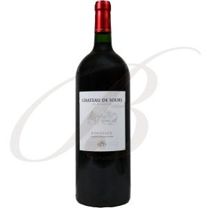 Magnum Château de Sours, Bordeaux Rouge, 2011 - Vin Rouge