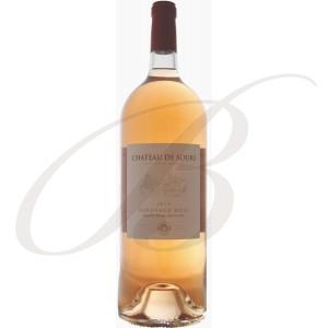Magnum Château de Sours, Bordeaux Rosé, 2014   150cl - vin rosé