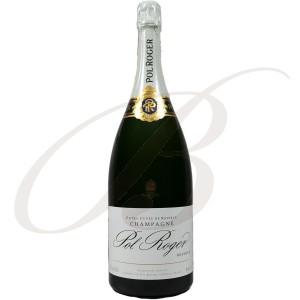 Magnum Champagne Pol Roger, Brut Réserve, 150cl
