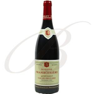 Mercurey Rouge, Clos des Myglands, Domaine Faiveley (Bourgogne), 2012 - Vin Rouge