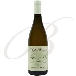 Meursault, Premier Cru, Les Genevrières, Château de Citeaux (Bourgogne), 2013 - Vin Blanc