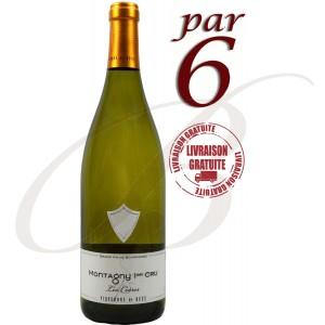 Montagny, Premier Cru Les Coères, Vignerons de Buxy (Bourgogne), 2015 - vin blanc par 6 Bouteilles