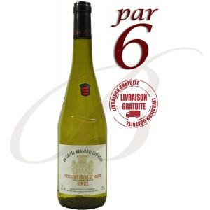 Muscadet Sur Lie, La Griffe Bernard Chéreau, Chéreau-Carré (Loire), 2015, Par 6 bouteilles - Vin Blanc