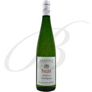 Muscat Sec, Cuvée Augustin, Robert Faller et Fils (Alsace), 2017 - Vin Blanc