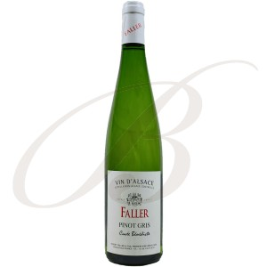 Pinot Gris, Cuvée Bénédicte, Robert Faller et Fils (Alsace), 2016 - Vin Blanc