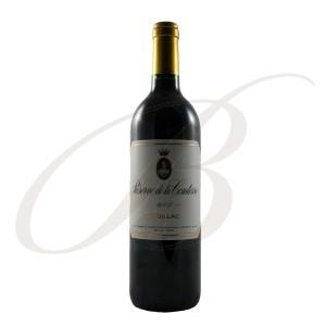 Reserve de la Comtesse, 2ème vin de Château Pichon-Longueville-Lalande, 2ème cru Pauillac (Bordeaux), 2003 - vin rouge