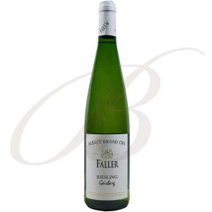 Riesling Geisberg, Grand Cru, Robert Faller et Fils (Alsace), 2012 - Vin Blanc