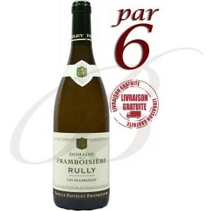 Rully, Les Villeranges, Domaine Faiveley (Bourgogne), 2014 (par 6 bouteilles) - Vin Blanc