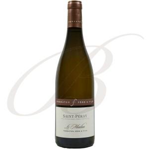 Saint-Péray, Le Mialan, Domaine Ferraton Père et Fils (Rhône), 2016 - Vin Blanc