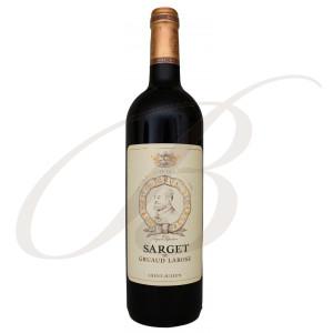 Sarget de Gruaud-Larose, 2ème vin de Château Gruaud-Larose, 2ème cru Saint-Julien (Bordeaux), 2016 - Vin Rouge