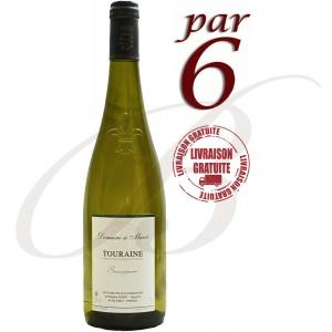 Sauvignon de Touraine, Domaine de Marcé (Loire), 2016, Par 6 Bouteilles - Vin Blanc
