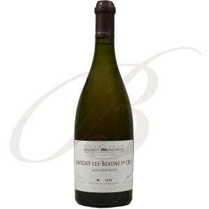 Savigny-lès-Beaune, Premier Cru, Aux Gravains, Domaine Maldant-Pauvelot (Bourgogne), 2012 - Vin Blanc
