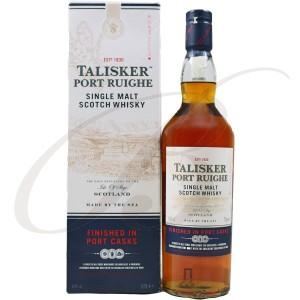 Talisker, Port Ruighe, Skye Single Malt Scotch Whisky Ecosse