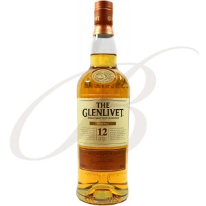 The Glenlivet Single Speyside Malt Scotch Whisky, First Fill, 12 ans d'âge, 40%
