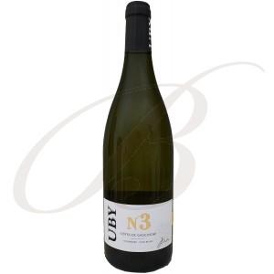 Colombard Ugni Blanc N°3, Domaine Uby (Gascogne), 2017 - White Wine