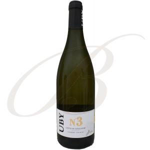 Colombard / Sauvignon N°3, Domaine Uby (Gascogne), 2020 - Vin Blanc