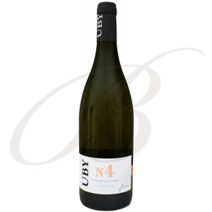 Gros et Petit Manseng N°4, Domaine Uby (Gascogne), 2019 - Vin Blanc
