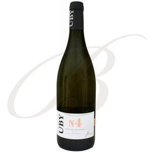 Gros et Petit Manseng N°4, Domaine Uby (Gascogne), 2020 - Vin Blanc