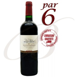 Vieux Château Goujon, Montagne Saint-Emilion (Bordeaux), 2014, par 6 bouteilles - Vin Rouge