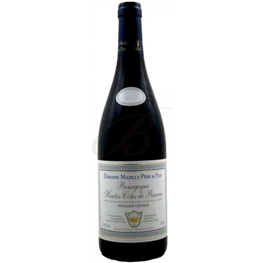 Hautes cotes de beaune vieilles vignes 2013 boursot for Haute cote de beaune