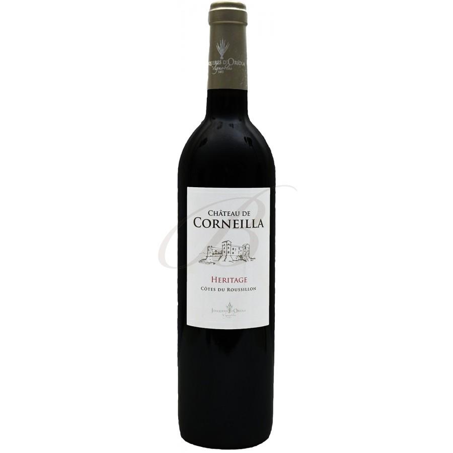 Chateau de corneilla cotes du roussillon 2015 boursot - Conservation du vin rouge ...