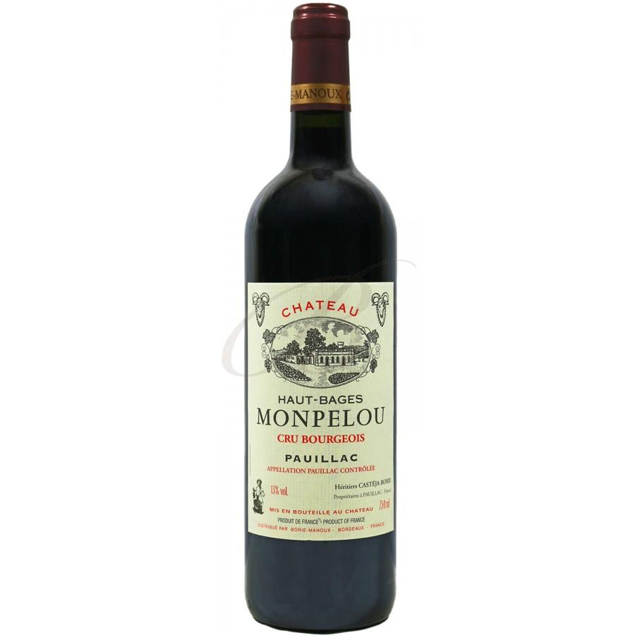 Chateau haut bages monpelou bourgeois pauillac 2011 boursot - Conservation vin rouge ...