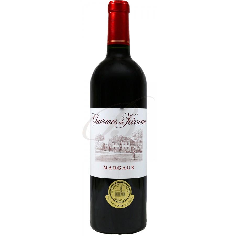 Charmes de kirwan margaux vin rouge bordeaux 2014 boursot - Conservation du vin rouge ...