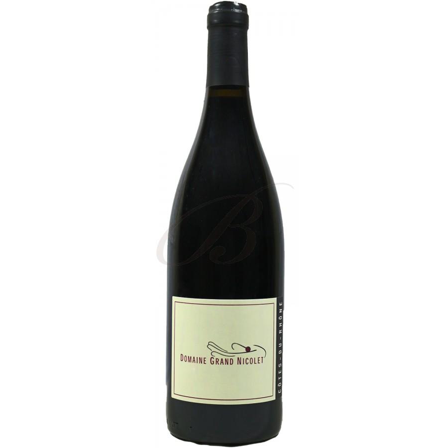 Domaine grand nicolet cotes du rhone 2015 boursot - Conservation du vin rouge ...