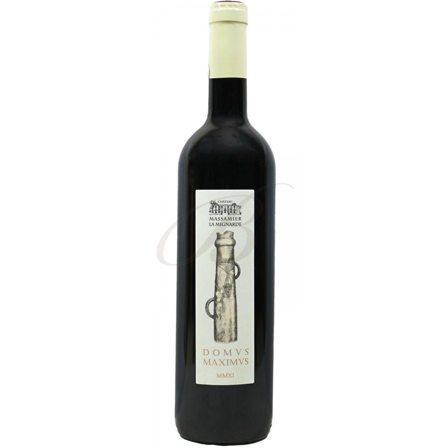 Domus maximus chateau massamier la mignarde 2013 boursot - Conservation vin rouge ...