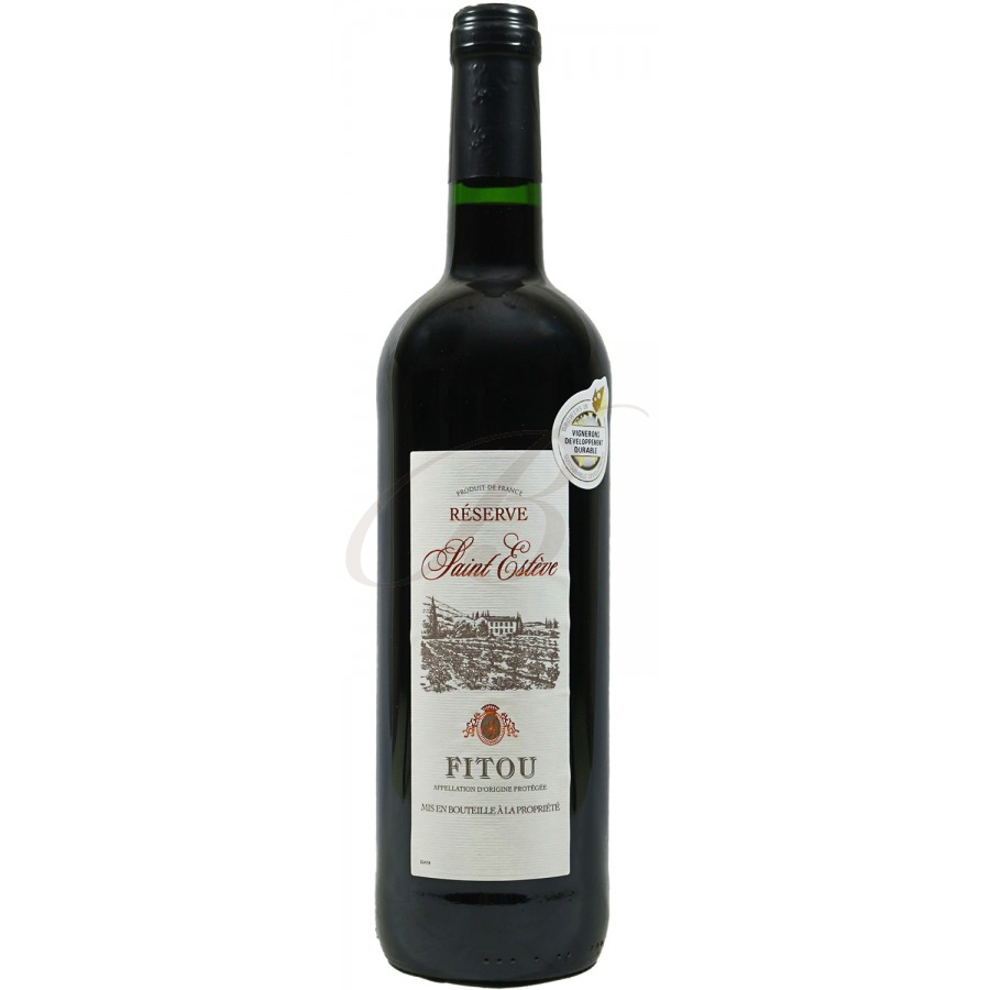 Fitou vin rouge r serve saint est ve 2015 boursot - Conservation du vin rouge ...