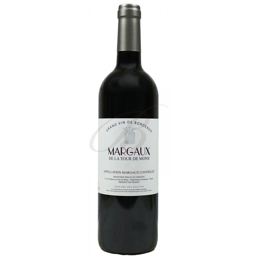 Margaux de la tour du mons bordeaux 2012 vin rouge - Conservation du vin rouge ...