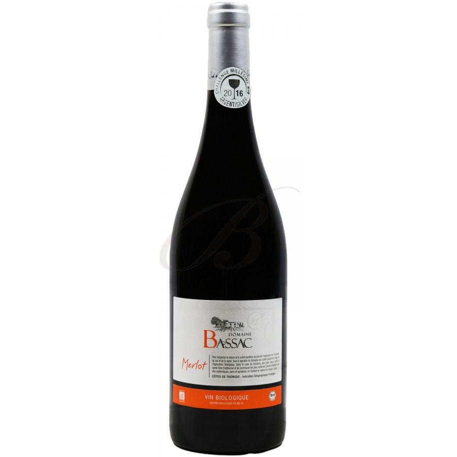Merlot biologique domaine bassac cotes de thongue 2015 boursot - Conservation vin rouge ...