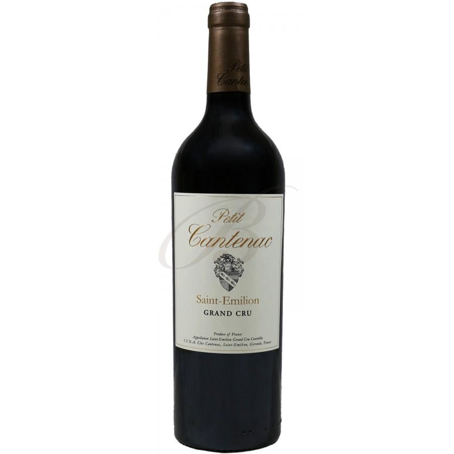 Petit cantenac grand cru saint emilion 2012 boursot - Conservation vin rouge ...