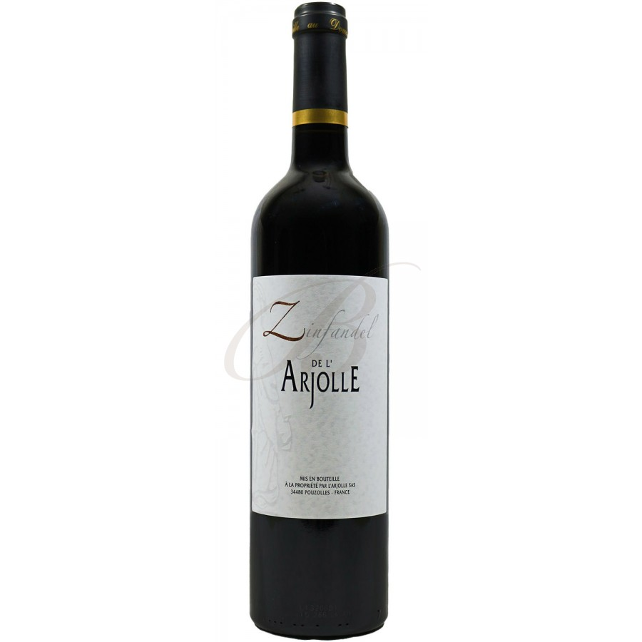 Zinfandel de l 39 arjolle vin rouge languedoc 2015 boursot - Conservation du vin rouge ...