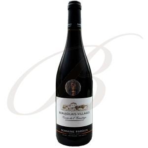 Beaujolais Villages, Cuvée de L'Ermitage, Domaine Pardon & Fils (Beaujolais), 2016 - Vin Rouge