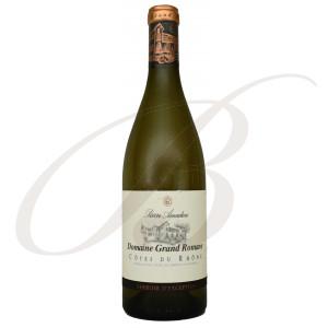 Côtes du Rhône Blanc, Terroir d'Exception, Domaine Grande Romane, Pierre Amadieu (Rhône), 2018 - Vin Blanc