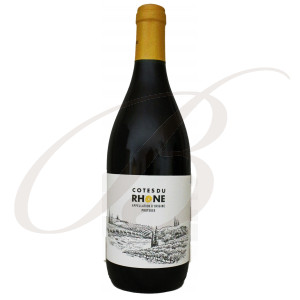 Côtes du Rhône, Baron Daniel de Martinay - Vin Rouge