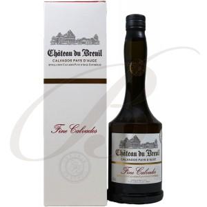 Fine de Calvados, Château du Breuil, Pays d'Auge, 40%
