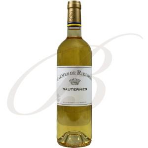 Carmes de Rieussec, Sauternes (Bordeaux), 2011- Vin Liquoreux