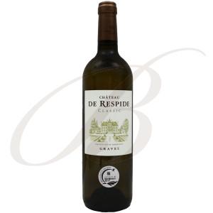 Château Respide, Graves Blanc (Bordeaux), 2018 - Vin Blanc