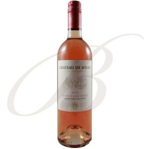Demi-Litre Château de Sours, Bordeaux Rosé, 2011 - vin rosé