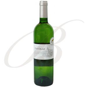 Château de Fayolle, Bergerac Sec, 2018 - Vin Blanc