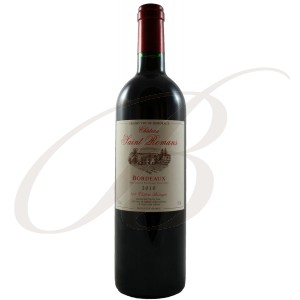 Château Saint-Romans, Bordeaux, 2010 - red wine