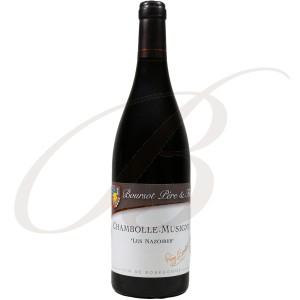 Chambolle-Musigny, Les Nazoires, Domaine Boursot Père & Fils (Bourgogne), 2011 - Vin Rouge