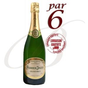 Champagne Perrier-Jouët Grand Brut par 6
